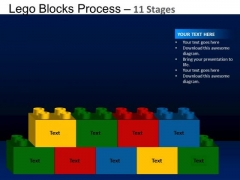 PowerPoint Themes Sales Lego Blocks Ppt Layout
