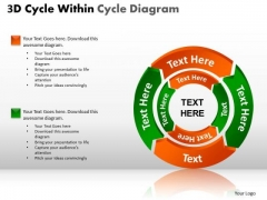 PowerPoint Themes Strategy Circular Process Ppt Slides