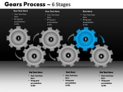 PowerPoint Themes Strategy Gears Process Ppt Designs