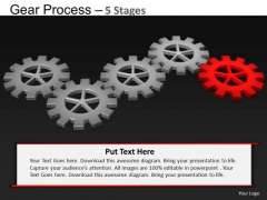 PowerPoint Themes Success Gears Process Ppt Design