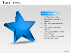 PowerPoint Themes Success Stars Ppt Templates