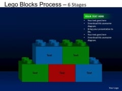 PowerPoint Themes Teamwork Lego Blocks Ppt Layout