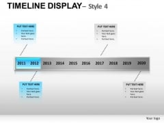 PowerPoint Timeline Graphic Editable Ppt Slides