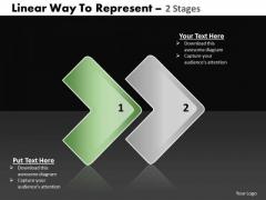 Ppt 2 State Diagram Linear Procurement Process PowerPoint Presentation Templates