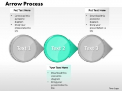 Ppt 3 PowerPoint Slide Numbers Text Circle Forging Process Slides Templates