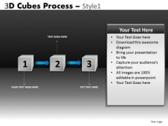 Ppt 3 Stage Process Flow Chart PowerPoint Slides