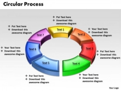Ppt 3d Animated Multicolor Circular Procurement Process PowerPoint Presentation Templates