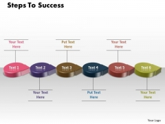 Ppt 3d Circle Arrow Create PowerPoint Macro To Success Templates