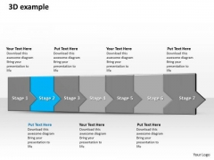 Ppt 3d Consecutive Demonstration To Restrain Banking Losses Seven Steps PowerPoint Templates