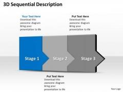Ppt 3d Constant Description To Prevent Business Losses Three Steps PowerPoint Templates