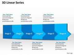 Ppt 3d Linear Abstraction To Restrict Business Losses Six Steps PowerPoint Templates