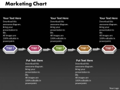 Ppt 3d Linear Mobile Marketing PowerPoint Presentation Flow Chart Templates
