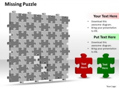 Ppt 3d Puzzle PowerPoint Template Pieces Stock Illustration Business Templates