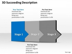 Ppt 3d Sequential Description To Prevent Financial Losses Three Steps PowerPoint Templates