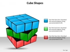 Ppt 3d Transparent Layers Cube Visualising Solid Callouts Presentation PowerPoint Templates