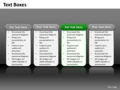 Ppt 4 Reasons You Should Buy From Us Process Tables PowerPoint Templates
