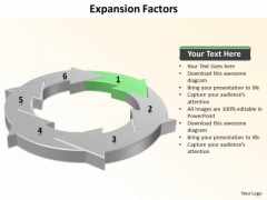 Ppt 6 Expansion Factors Presentation PowerPoint Templates 2003