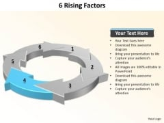 Ppt 6 Rising Factors Sample Presentation PowerPoint 2010 Templates