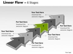 Ppt 6 Stages Step By Marketing Strategy Operations Management PowerPoint 5 Design