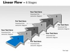 Ppt 6 Stages Step By Marketing Strategy Transactions Communication PowerPoint 2 Design