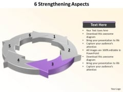Ppt 6 Strengthening Aspects Free PowerPoint Templates 2010