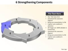 Ppt 6 Strengthening Components PowerPoint Certificate Word Templates