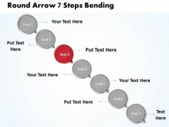 Ppt 7 Create PowerPoint Macro Arrow Process Business Templates