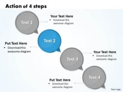Ppt Action Of 4 PowerPoint Slide Numbers Involved Procedure Templates