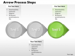 Ppt Animate Text PowerPoint 2003 Circle Arrow Process Slide Numbers Templates
