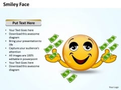 Ppt Animated Smiley With Happy Emotion Business Management PowerPoint Finance Templates