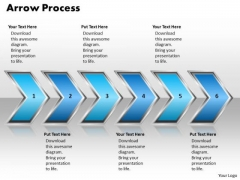 Ppt Arrow Pointing Process 6 Stages PowerPoint Templates