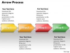 Ppt Arrow Procurement Process PowerPoint Presentation 4 Stages Style 1 Templates