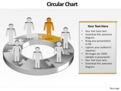 Ppt Assembly Of Business PowerPoint Presentation People With 3d Pie Chart Templates