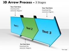 Ppt Background 3d Linear Arrow Progression Stages Business Management PowerPoint 1 Design