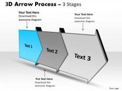 Ppt Background 3d Linear Arrow Progression Stages Business Management PowerPoint 2 Design