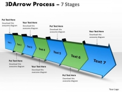 Ppt Background 3d PowerPoint Backgrounds Illustration Of Arrow Method 7 Stages 1 Image