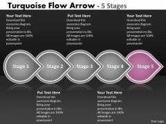 Ppt Background Five Steps World Commerce Sample Presentation PowerPoint Arrow Process 6 Image