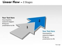 Ppt Background Progression Of 2 Stages Flow Free Fishbone Diagram PowerPoint Template 3 Design