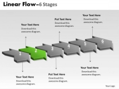 Ppt Background Work Flow Chart PowerPoint Past Continuous Six Phase 3 Graphic