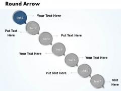 Ppt Bending Arrow 7 Create PowerPoint Macro Business Templates