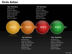 Ppt Circle Action Through Bubbles 4 PowerPoint Slide Numbers Templates