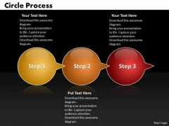 Ppt Circle Arrow 3 PowerPoint Templates