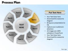 Ppt Circular Diamond Mining Process PowerPoint Presentation Plan Templates