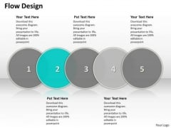 Ppt Circular Flow Design Showing 5 Steps Involved Development PowerPoint Templates