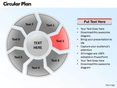 Ppt Circular Plan 7 Phase Diagram PowerPoint Templates