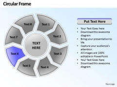 Ppt Circular Plan 8 Stages Leadership Presentation PowerPoint 2003 Templates