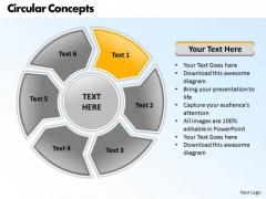 Ppt Circular Process 6 Scientific Method Steps PowerPoint Presentation Templates