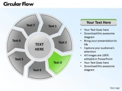 Ppt Circular Scheme 7 Power Point Stage PowerPoint Templates
