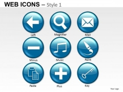 Ppt Clipart Graphics Email Music Button Slides