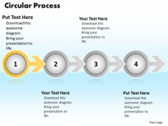 Ppt Colorful Arrow And Circular Process 4 Practice The PowerPoint Macro Steps Templates